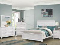 Cape Cod 6 Pc Queen Size Bedroom Set | Queen Bedroom Set with Coastal Bedroom Furniture Sets
