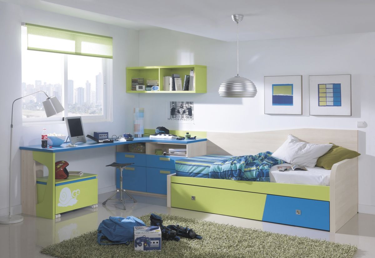 Charmant Boys Bedroom Furniture For Small Rooms Curtains regarding