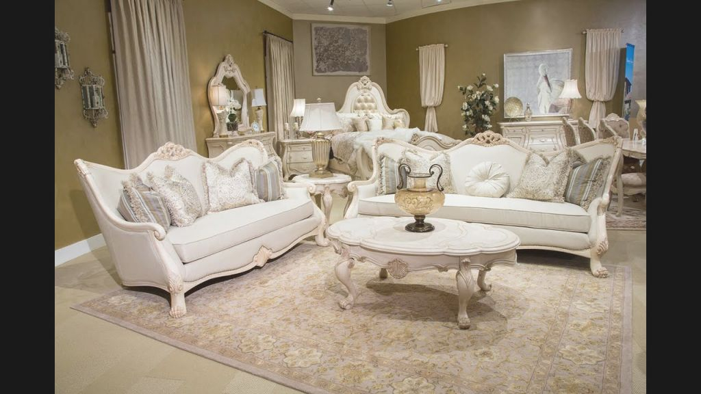Chateau De Lago Living Room Setmichael Amini / Aico | Home Gallery S with regard to Michael Amini Living Room Furniture