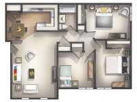 Cheap 3 Bedroom Apartment | Homswet with Three Bedroom Apartment