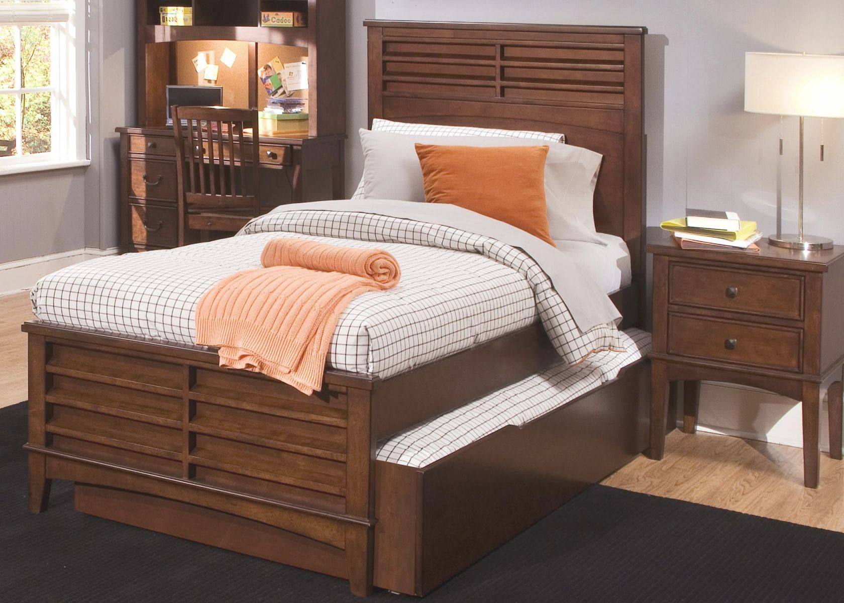 Chelsea Square Youth Full Size Panel Bed With Trundle Storage Drawer Liberty Furniture At Royal Furniture inside Full Size Bedroom Furniture Sets