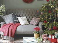 Christmas Living Room Decorating Ideas – Living Room For in Christmas Decorated Living Rooms Ideas