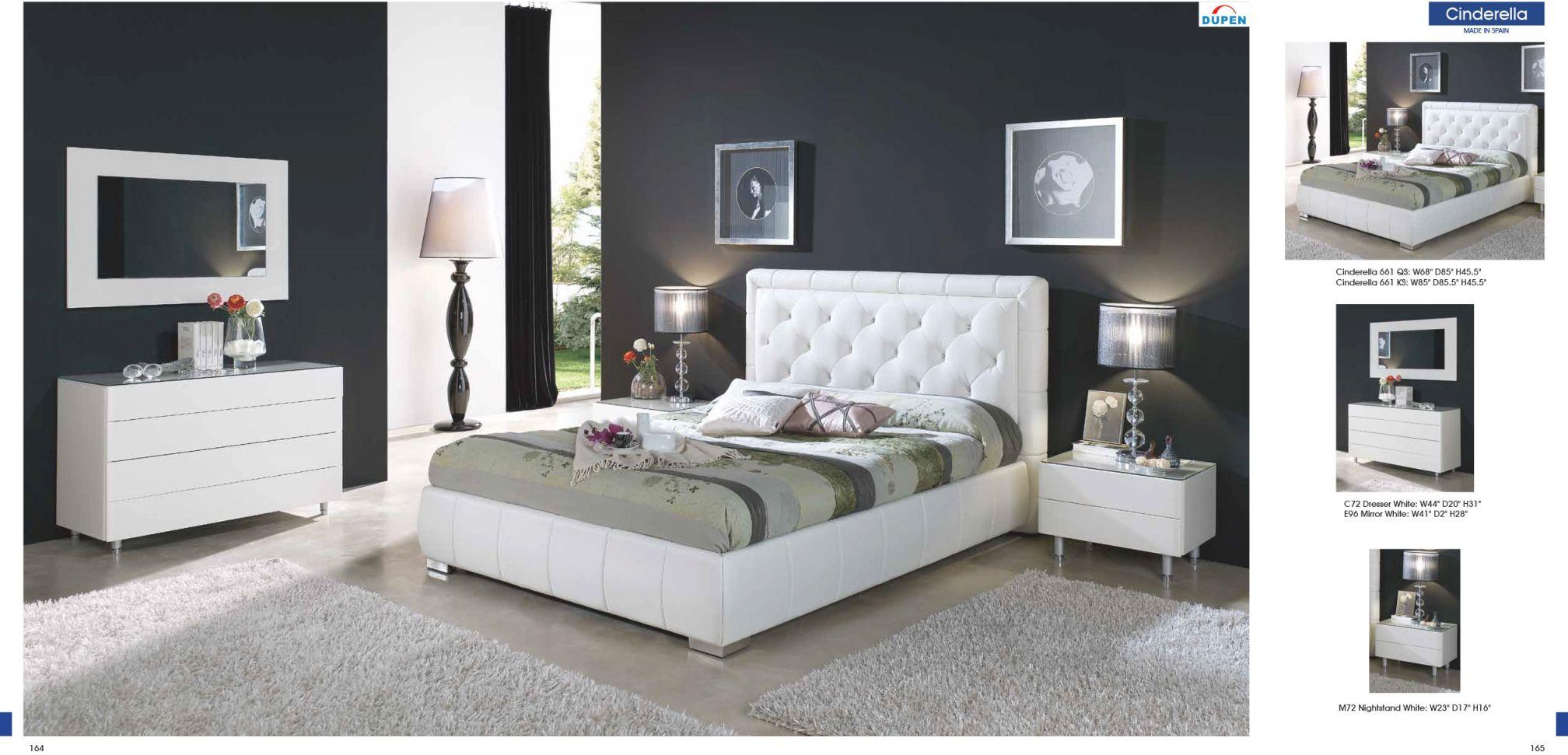 Cinderella 661 intended for Modern Bedroom Furniture Sets