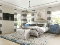 "Clara 56"" Queen Size Headboard throughout Coastal Bedroom Furniture Sets"