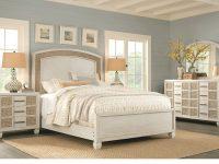 Coastal Bay White 7 Pc King Panel Bedroom within Lovely Coastal Bedroom Furniture Sets