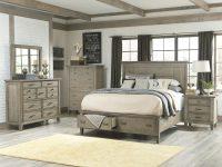 Coastal Master Bedroom Ideas: Brownstone 3Pc (Bed, Mirror for Lovely Coastal Bedroom Furniture Sets