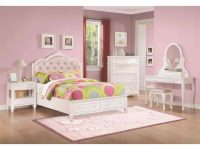 Coaster Caroline 4Pc Full Storage Bedroom Set With Diamond Tufted Headboard In White Painted intended for Unique Diamond Furniture Bedroom Sets