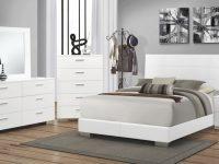 Coaster Felicity Bedroom Set White 203501 Bed Set Bedroom inside Lovely Coastal Bedroom Furniture Sets