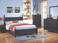 Coaster Furniture Zachary 2Pc Kids Bedroom Set With Full Bed intended for Kids Bedroom Furniture Sets