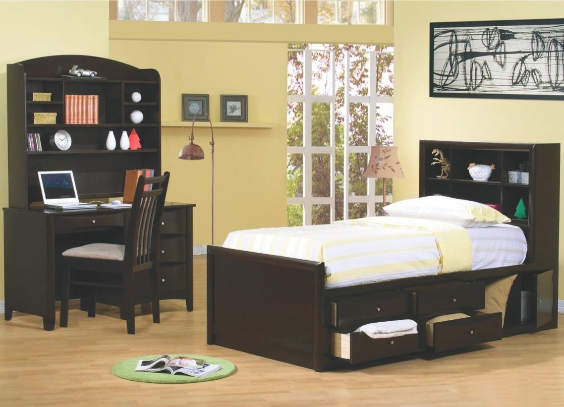Coaster Phoenix 4 Piece Full Size Bedroom Set throughout Best of Bedroom Set With Desk