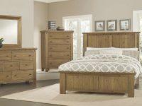 Collaboration Panel Bedroom Set (Oak) pertaining to Luxury Oak Bedroom Furniture Sets