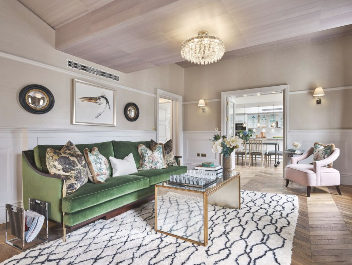 Colorful Classic Decor In London Inspired'out Of Africa pertaining to African Decor Living Room