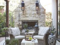 Country French Loggias | Cabanas, Outside Entertainment with Outdoor Living Room Furniture