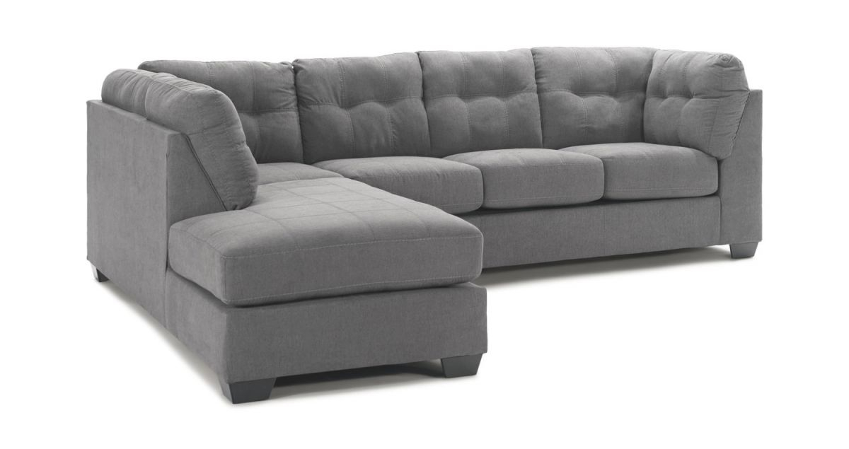 Crosby 2 Piece Modular Sectional in 2 Piece Sectional With Chaise