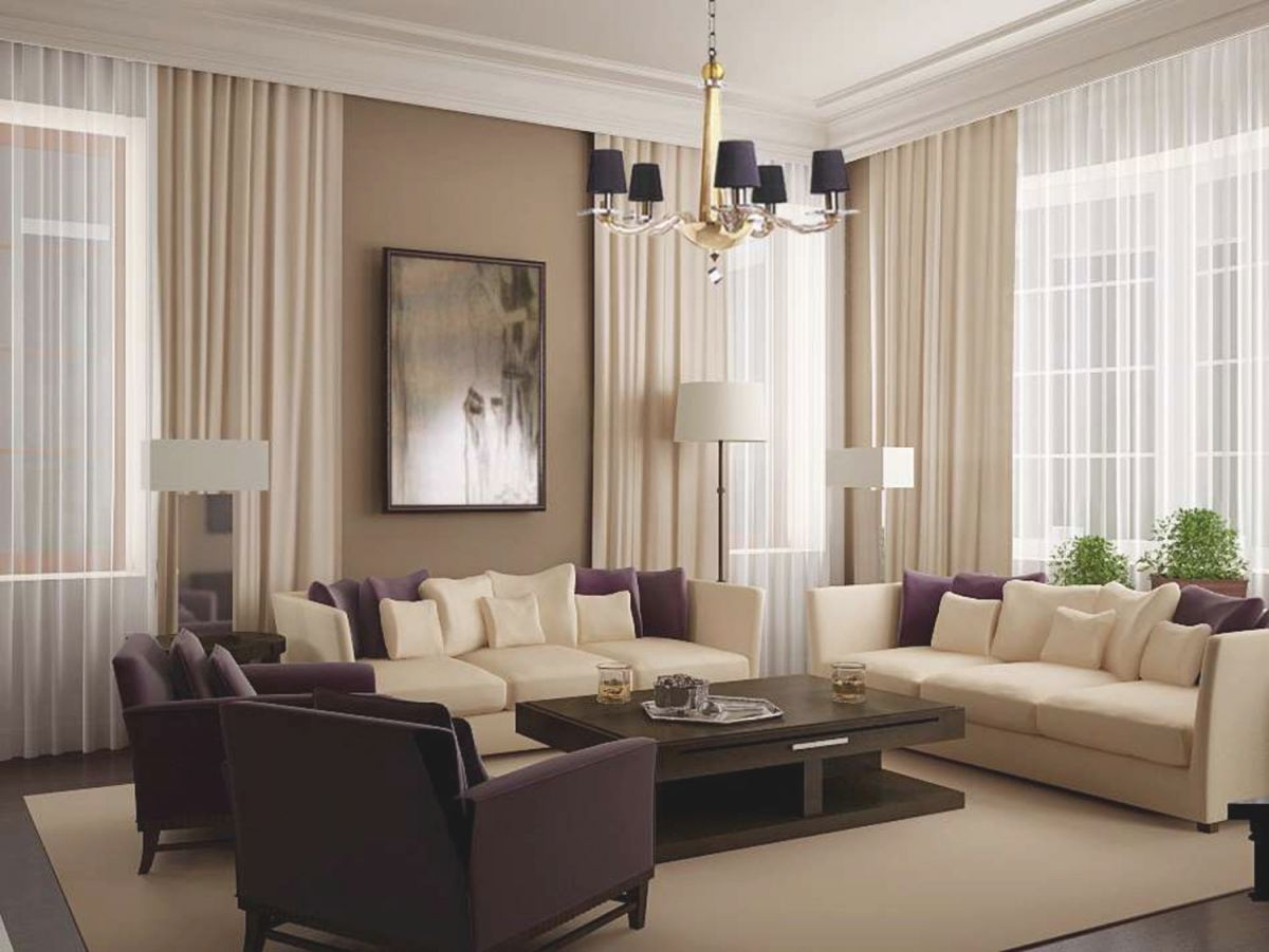 Curtains For Living Room With Brown Furniture – Sistem As in Best of Curtains For Living Room With Brown Furniture