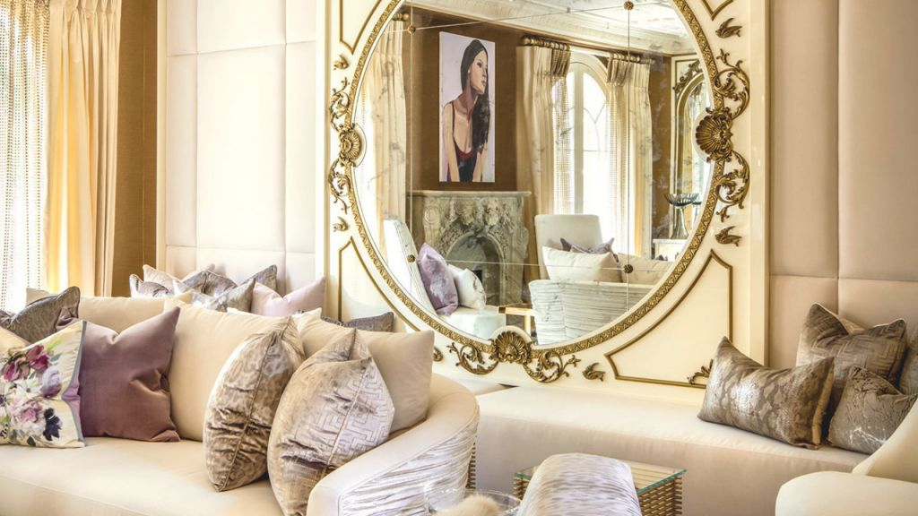 Decorating—Tastefully—With Mirrors – Mansion Global regarding Antique Decorating Ideas Living Room