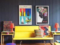 Decorating Your House With Pop Art Decor   Wearefound Home inside Art Decor For Living Room