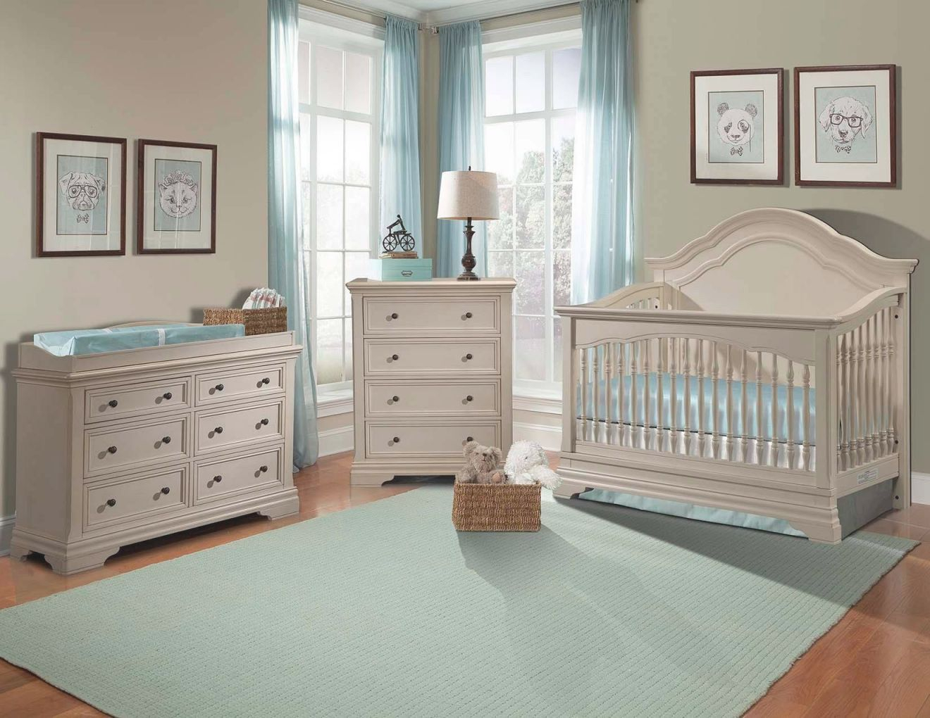 Delectable White Furniture Set Nursery Kids Room Piece Baby throughout Unique Baby Bedroom Furniture Sets