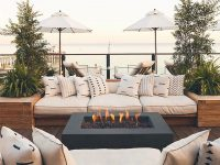 Designing Your Outdoor Living Space To Be An Extension Of with Unique Outdoor Living Room Furniture