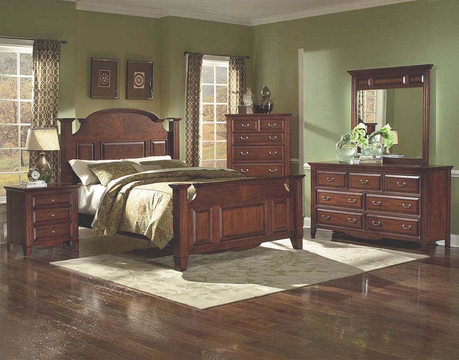 Drayton Hall Bedroom Collection intended for Queen Size Bedroom Furniture Sets
