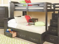Dreamcatcher Twin Over Full Bunk Bed – Bunk Bed & Staircase (Dreamcatofstbb) within Conns Bedroom Furniture Sets
