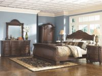 Exclusive North Shore Sleigh Bedroom Set King Size Bed B553 inside Ashley Furniture North Shore Bedroom Set