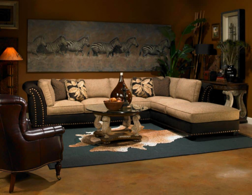 Exotic And Unique African Decor For Your Home Interior intended for Best of African Decor Living Room
