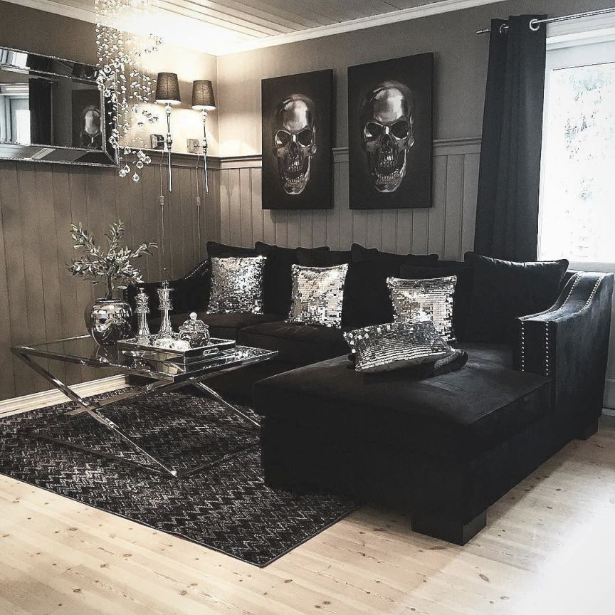 Find Here The Best Colors For Your New Years Living Room for Best of Black Living Room Decor