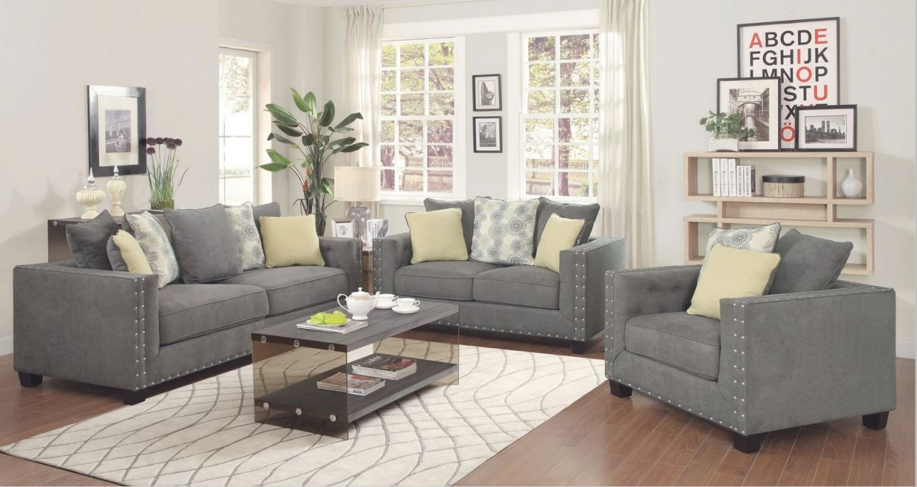 Five Distinctive Living Room Sets From Coaster | Home in Living Room Furniture Sets For Sale