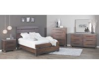 Forge 5 Piece Bedroom Set throughout Unique Rustic Bedroom Furniture Sets