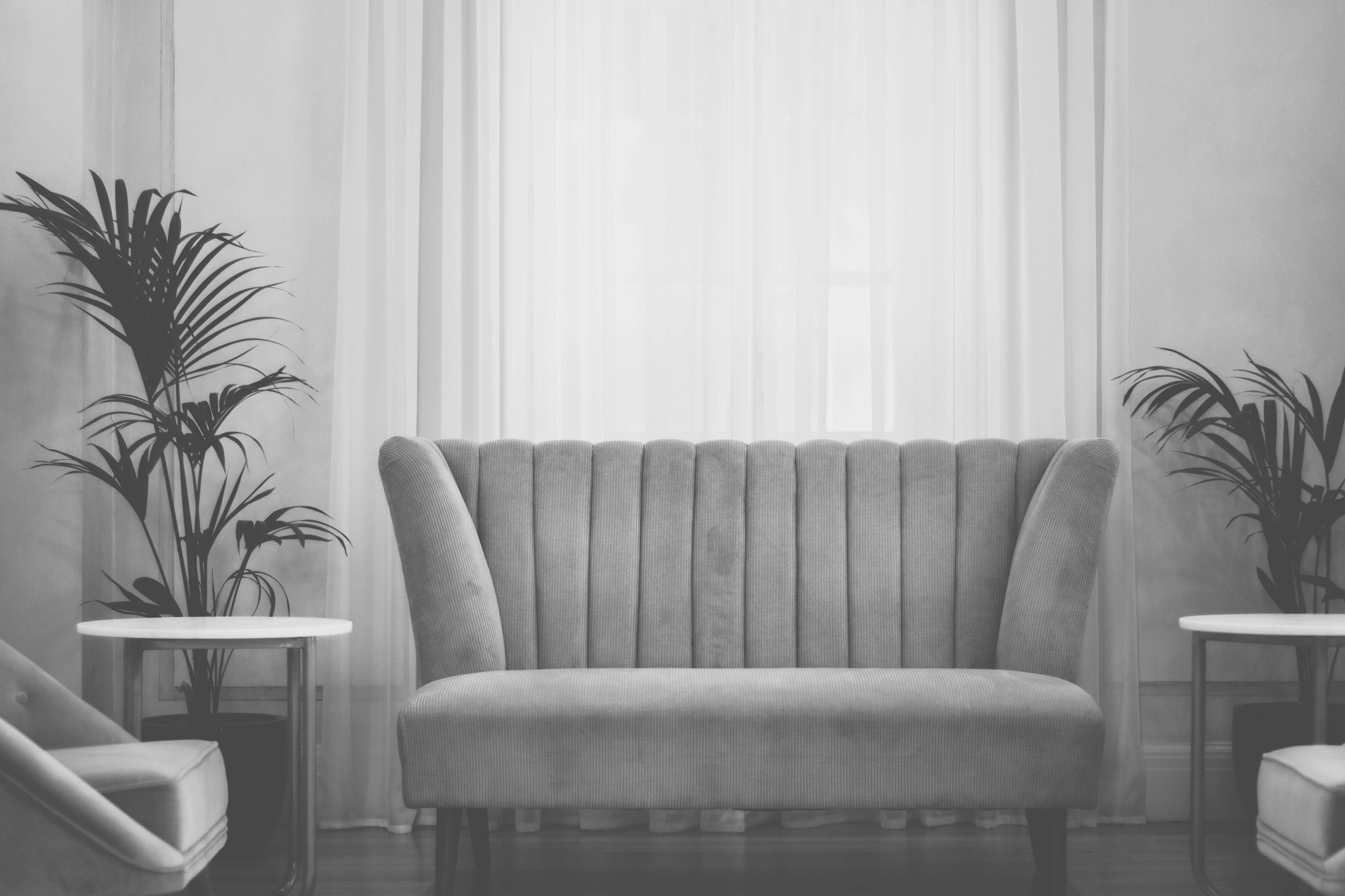 Free Images : Table, Black And White, Architecture, Chair intended for Monochrome Living Room Decorating Ideas