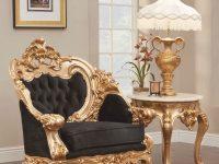 French Gold Leaf Living Room Set regarding New French Provincial Living Room Furniture