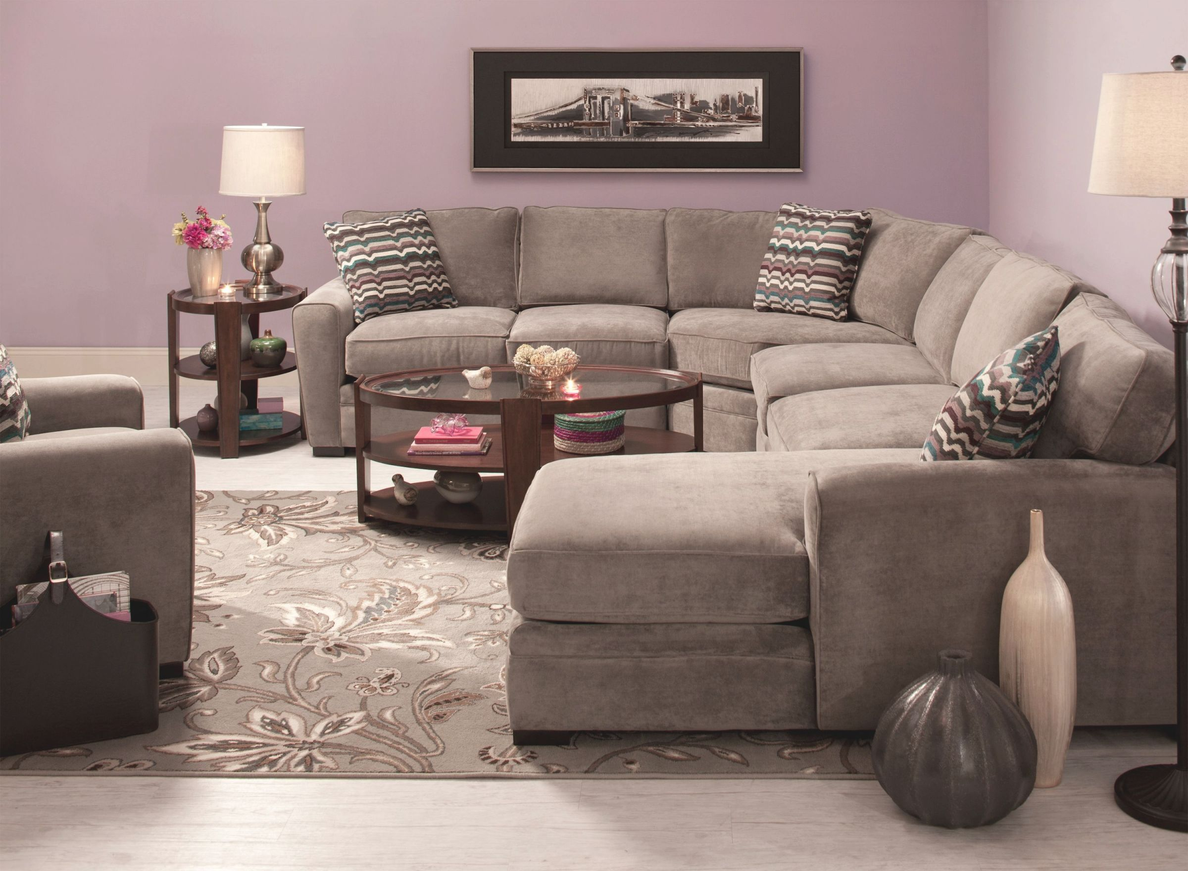 Furniture: Enticing Raymour And Flanigan Sectional With regarding Inspirational Raymour And Flanigan Living Room Sets