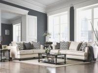 Furniture Of America Percey Living Room Set In Off-White with regard to White Living Room Furniture Sets
