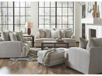 Gabrielle Living Room – Sofa & Loveseat – Cream (334603) with Living Room Furnitures