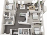 Gardens At Cherry Creek | Luxury Pet-Friendly Apartments In with regard to Luxury Three Bedroom Apartment
