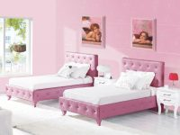 Girls-Shared-Bedroom-Ideas-With-Pink-Colors | Bedroom within Pink Bedroom Furniture Sets