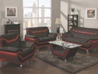 Glamorous Red And Black Living Room Sets Tables Interior Set for White Living Room Furniture Sets