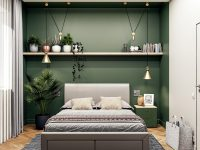 green-grey-and-gold-bedroom