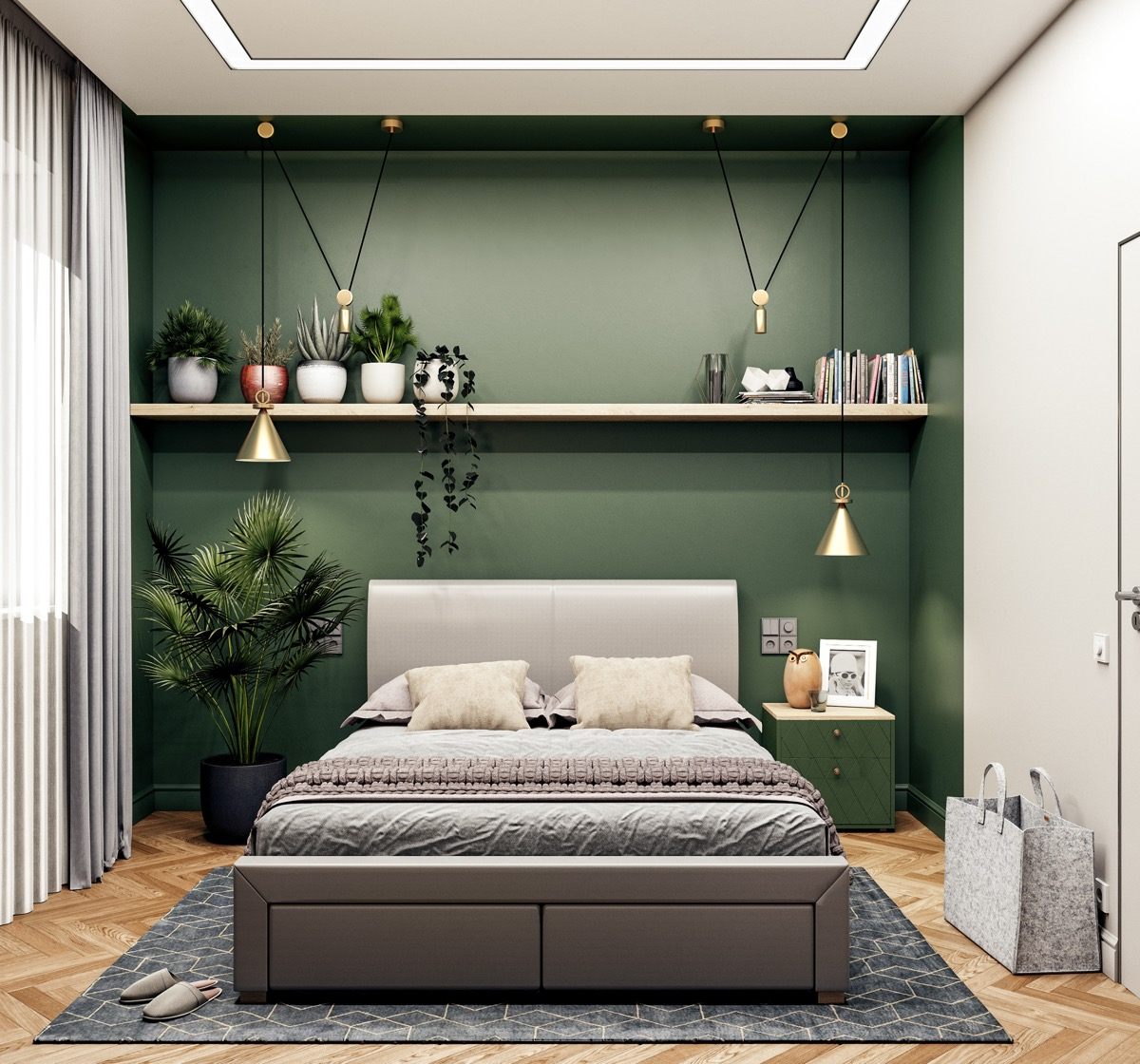 Green And Grey
