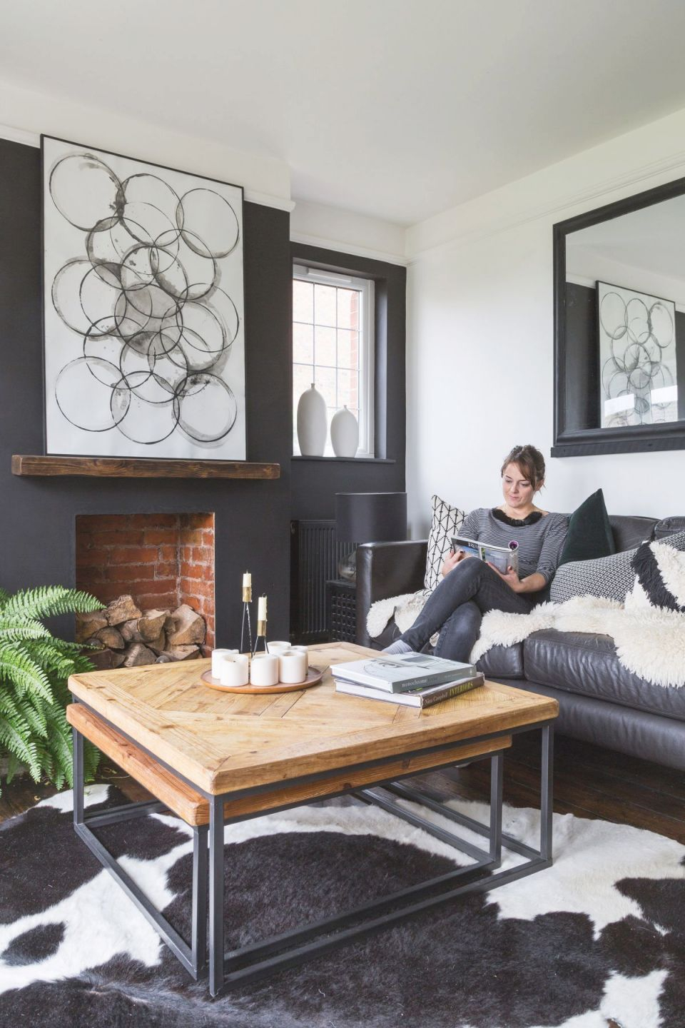 Grey Living Rooms: 22 Gorgeous Ideas To Inspire Your Scheme in Monochrome Living Room Decorating Ideas