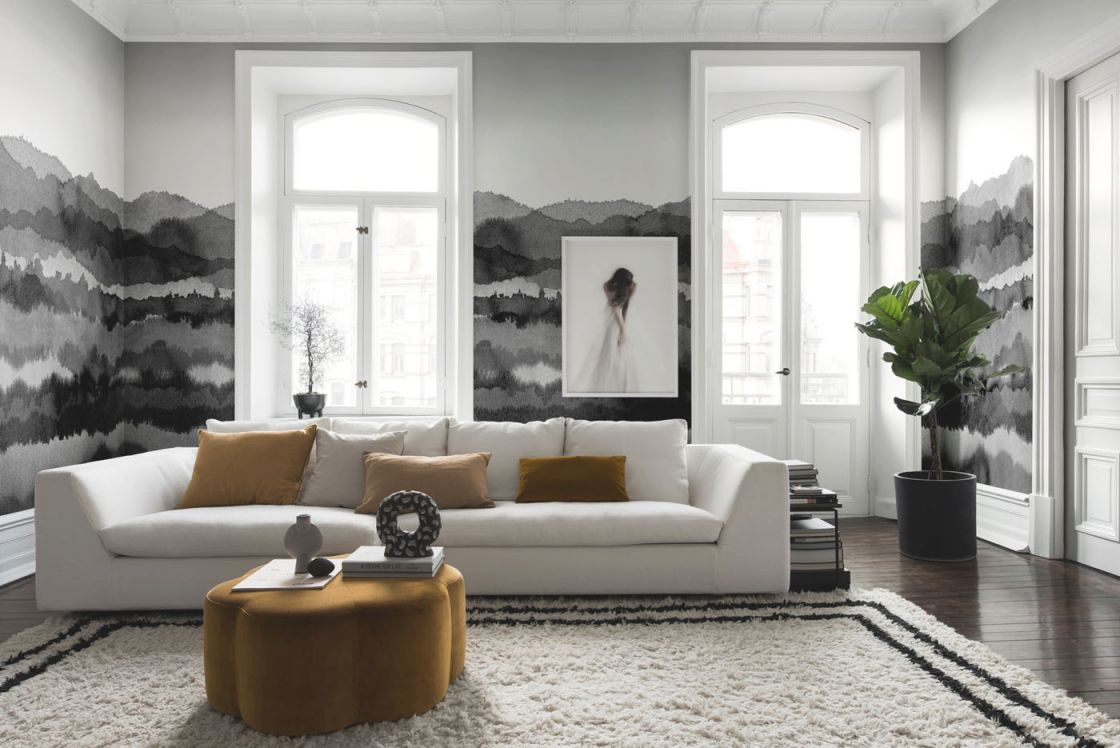 Grey Living Rooms: 22 Gorgeous Ideas To Inspire Your Scheme regarding Elegant Monochrome Living Room Decorating Ideas