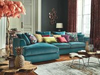 Harrington Large Sofa | Sofas | Living Room inside Elegant Teal Living Room Furniture
