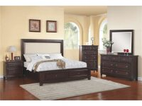 Harwich Upholstered Storage Platform Bedroom Set – Queen – Close Out | Nader's Furniture within Beautiful Bedroom Sets Furniture