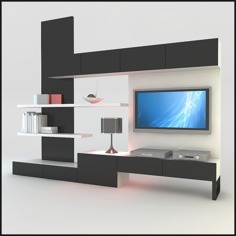 Hints For Modern And Stylish Tv Wall Units – Fotolip in Stylish Tv Unit