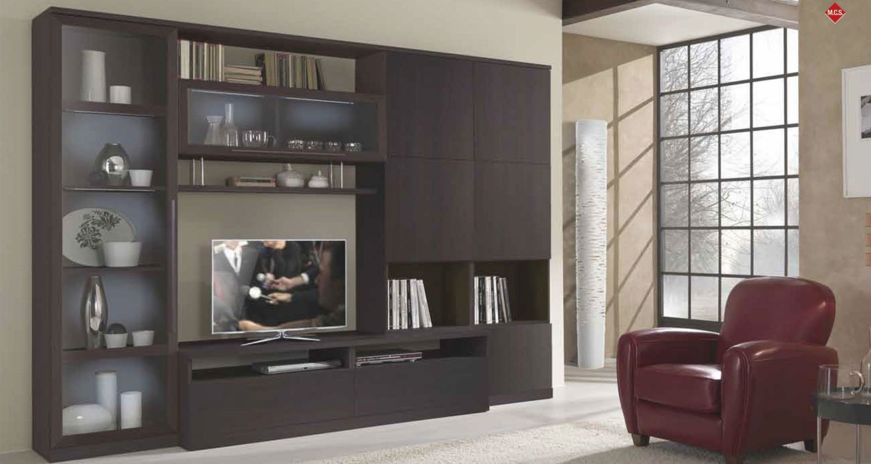 Home Built In Bar And Wall Unit Ideas | Magnificent Living with regard to Stylish Tv Unit