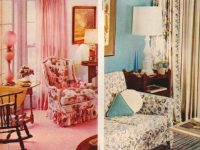 Home Decor, 1950S-Style: Be Generous With Color – Click with New 1950S Living Room Decor