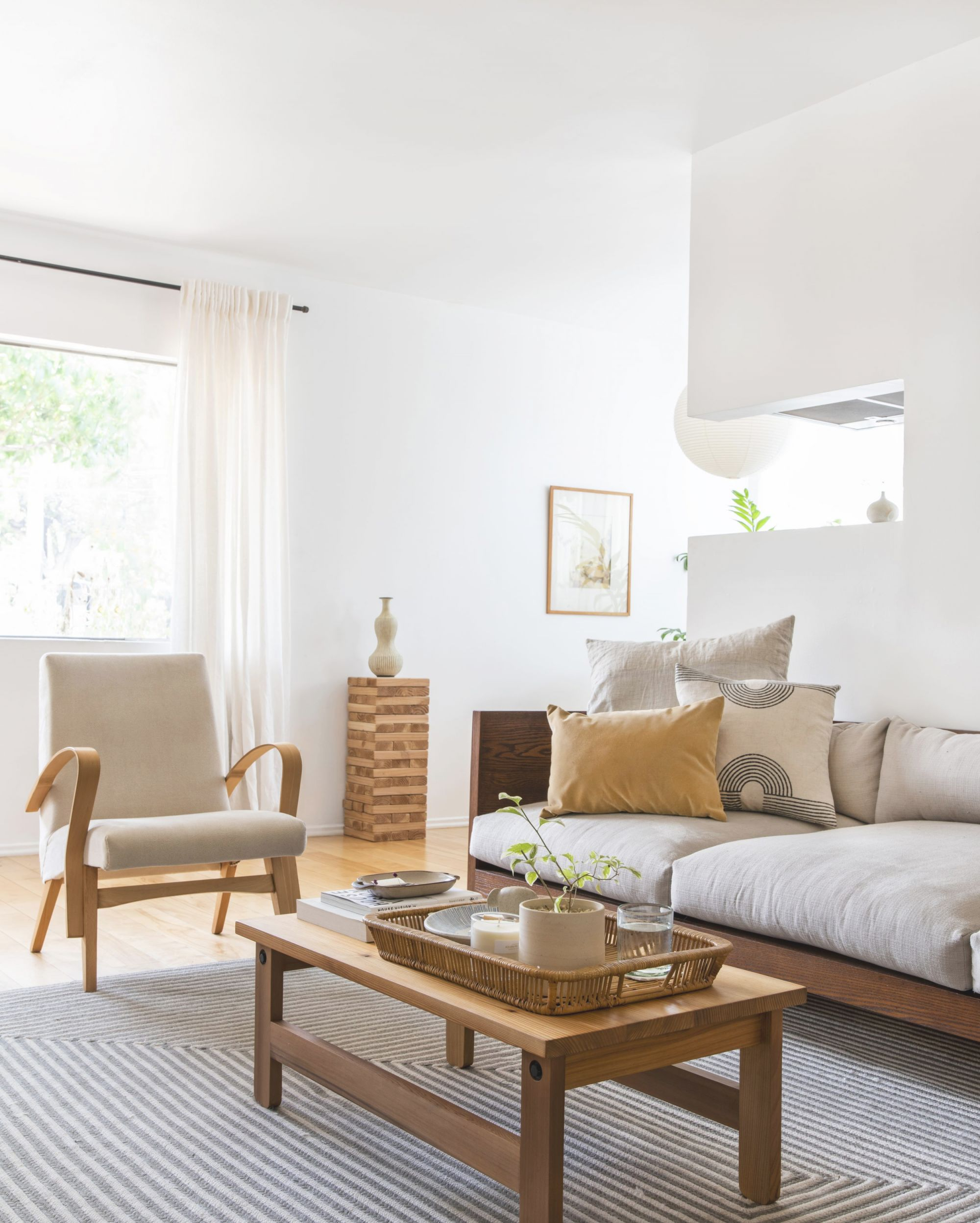 House Tour: Mel's New Place Makes Us Want To Declutter with regard to Luxury Cheap Modern Living Room Furniture