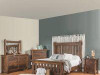 Houston Amish Bedroom Set regarding Rustic Bedroom Furniture Sets