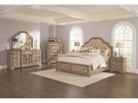 Ilana California King Bedroom Groupcoaster At Dunk & Bright Furniture within Unique California King Bedroom Furniture Sets